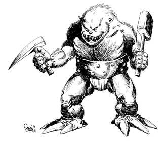 Earl Geier Furry Monster