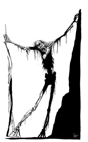 Earl Geier Gaunt Zombie
