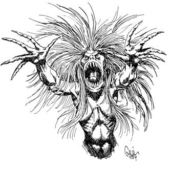 Earl Geier Presents Screaming Hag