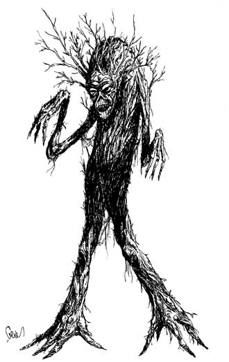 Earl Geier Tree Monster