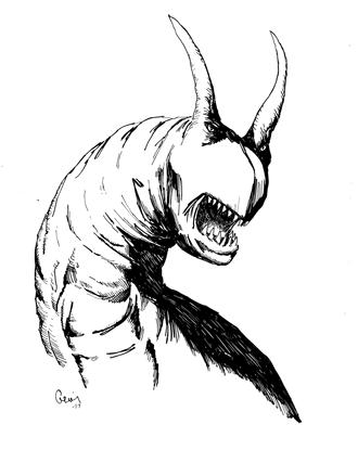 Earl Geier Presents Demon Worm