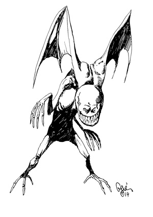 Earl Geier Presents Evil Imp