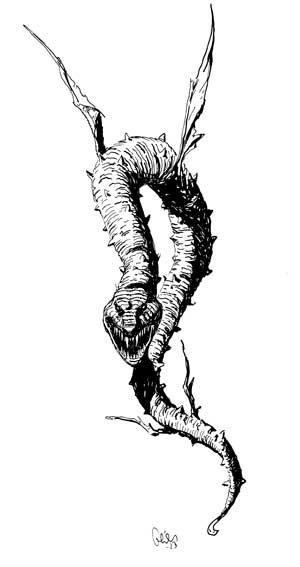 Earl Geier Flying Snake