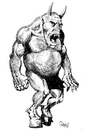 Earl Geier Presents Hoofed Demon