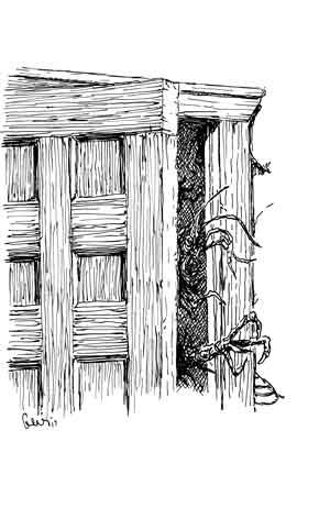 Earl Geier Presents Horror in the Doorway