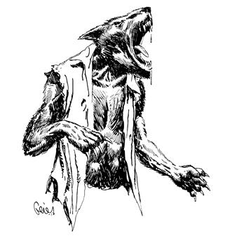 Earl Geier Werewolf