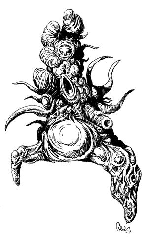 Earl Geier Monster Blob