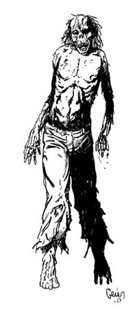 Earl Geier Zombie