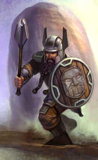 Eric Lofgren Charging Dwarf