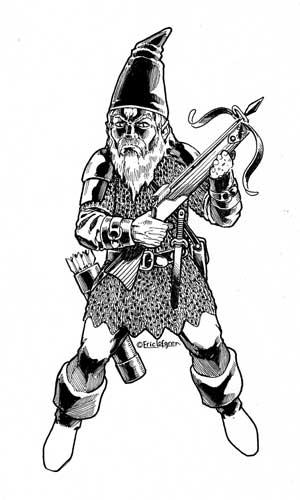 Eric Lofgren Crossbow Gnome