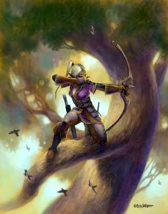 Eric Lofgren Elven Tree Archer