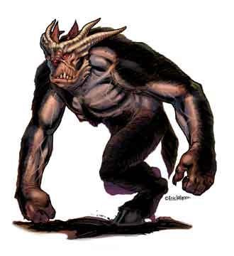 Eric Lofgren Horned Beast