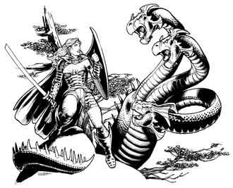 Eric Lofgren Hydra Fight