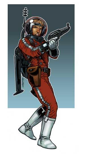 Eric Lofgren Pulp Spaceman