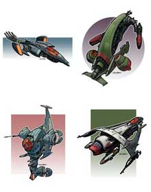 Eric Lofgren Spacefighter Fleet Bundle