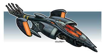 Eric Lofgren Spacefighter