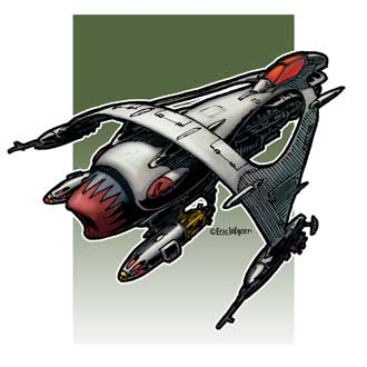 Eric Lofgren Spacefighter 2