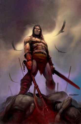 Eric Lofgren Triumphant Barbarian