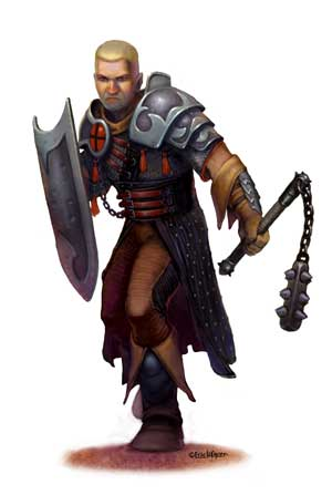 Eric Lofgren Male Cleric