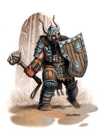 Eric Lofgren Dwarf Warrior