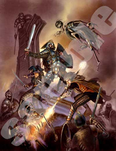 Eric Lofgren Battle against the Undead