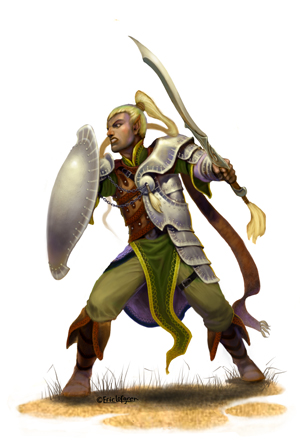 Eric Lofgren Elf Fighter