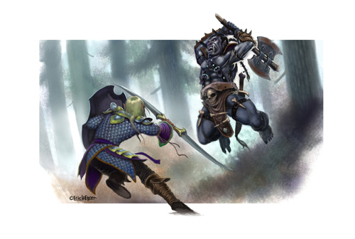 Eric Lofgren Orc versus Elf