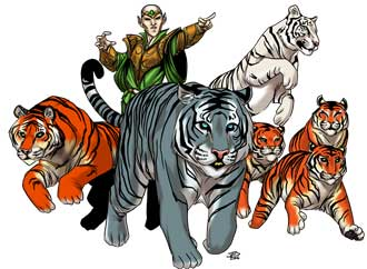 Christina Stiles Ambush of Tigers by Jacob Blackmon