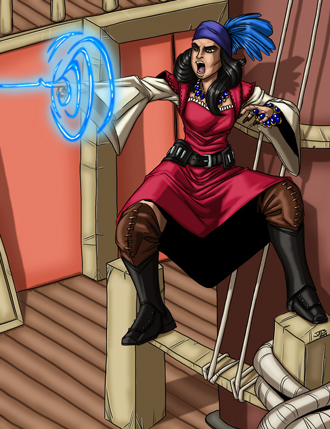 Christina Stiles Mystic Pirate by Jacob Blackmon