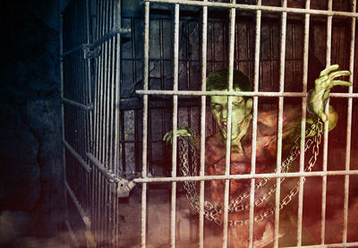 Jason Moser Caged Zombie