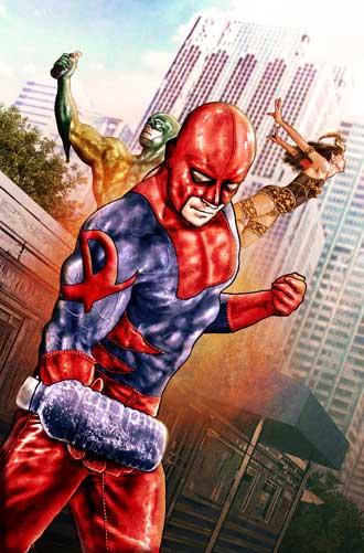 Jason Moser Presents a Super-Hero Battle in the Sky