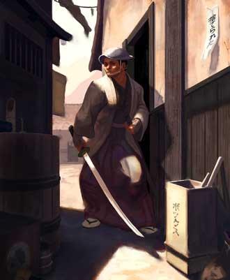 Nicolas Boone Urban Samurai