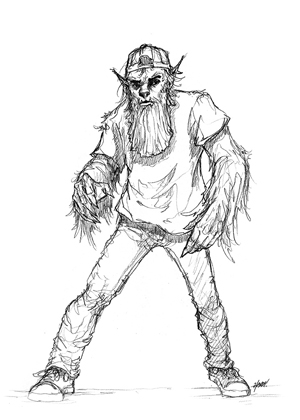 Scott Harshbarger Presents: Urban Wolfman