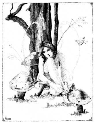 W Fraser Sandercombe Deep Thinking Fairy
