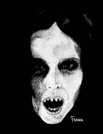 W Fraser Sandercombe Lady Vampire