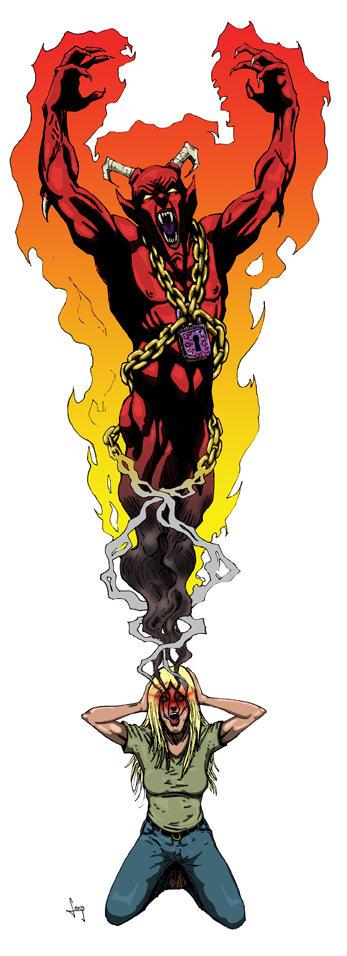 Mutants & Masterminds Bound Demon